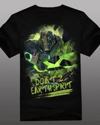 dota 2 hero earth spirit t shirt for men xxxl kaolin tee for boys