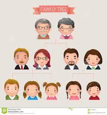 Family Tree Stock Illustrations 28 055 Family Tree Stock
