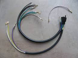 moto guzzi parts loop frame wiring harnesses moto guzzi wiring sub harness to support the use of the k s 12 0041 universal handlebar switch