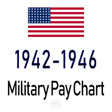 1942 1946 Military Pay Chart