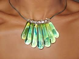 hand n gl jewelry dess gl necklace