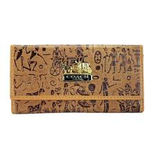 Coach Egyptian Wall Painting Large Camel Wallets EED
