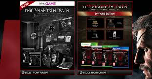 Metal Gear Solid V The Phantom Pain S Collector S Edition Sold Metal Gear Solid V Phantom Pain Collectors Edition Xbox One