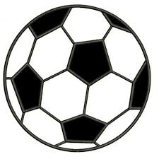 Soccer Ball Pattern Interesting Soccer Ball Applique Machine Embroidery Digitized Design Pattern