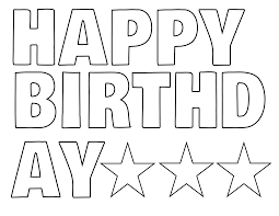 Image Result For Happy Birthday Letters To Print Birthday