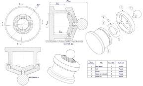 turned box with combination lock lid assembly drawing parts list and exploded view