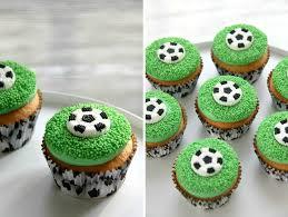 Soccer Cupcakes Sabien Wedman