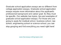 graduate admission essay help about