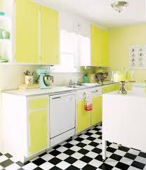 colorful kitchen design. Rainbow Yellow Kitchen Decoration Colorful Design