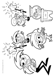 Small Picture Fairly Oddparents Coloring Pages Online Coloring Coloring Pages