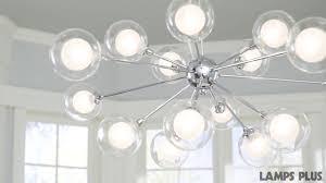 Possini Euro Design Glass Orbs 15 Light Pendant Chandelier