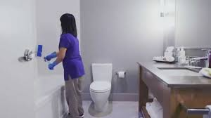 Room Attendants: Cleaning Bathrooms (3 of 7) - YouTube