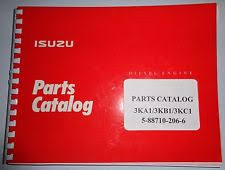 isuzu 3ka1 3kb1 3kc1 engine parts catalog book manual original gehl