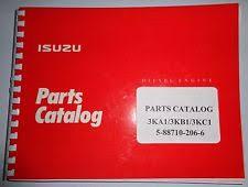 isuzu ka kb kc engine parts catalog book manual original gehl