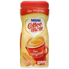 Lactose free, cholesterol free, kosher dairy. Bulk Nestle Coffee Mate Original Powdered Coffee Creamer 6 Oz Canisters Dollar Tree