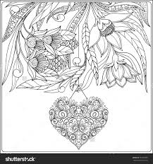 Small Picture Fancy Valentines Day Hearts Coloring Pages Coloring Page And
