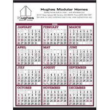 Big Numbers Span A Year Calendar 2020