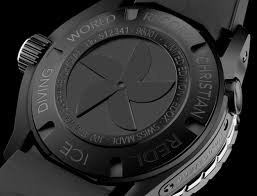 diving luxury watches edox mens 96001 37no nio2 iceman i limited edition luxury diving watch back