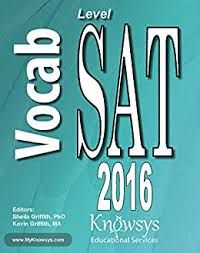 Knowsys Level SAT Vocabulary Flashcards (Knowsys Vocabulary Builder Series)  - Kindle edition by Griffith, Sheila, Griffith, Kevin, LLC, Knowsys  Educational Services. Reference Kindle eBooks @ Amazon.com.