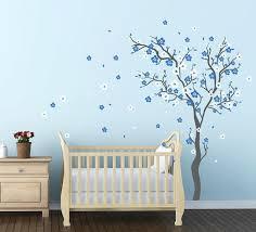 cherry blossom wall decals for baby boy nursery stunning premium high quality furniture wooden oak rustic boy high baby nursery decor
