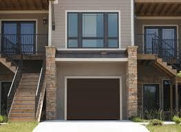 brown garage doorsContemporary Garage Doors  Des Moines  Ames IA