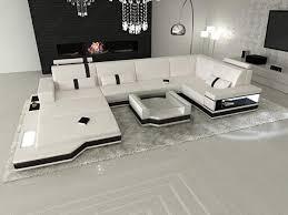 Sofa Dreams Leder Wohnlandschaft Messana In Der U Form Mit
