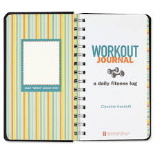 Daily Workout Journal Workout Journal Diary Notebook Fitness Claudine