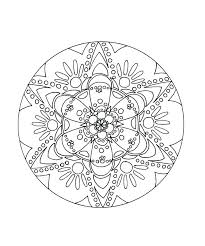 Coloring Pages Adults Printable Mandala Coloring Pages For Adults