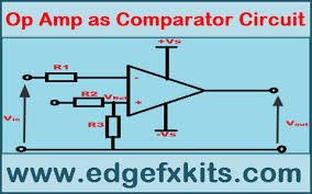 Op Amp Comparator Op Amp As Comparator Circuit And Its Working Operation