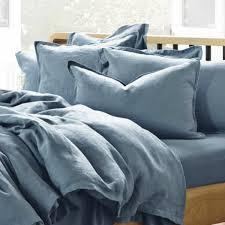 blue linen duvet cover sweetgalas intended for amazing house blue linen duvet cover prepare