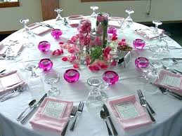 round table decoration centerpieces setting ideas decorations for fall birthday singapore