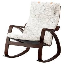 POÄNG <b>Rocking</b>-<b>chair</b> - <b>brown</b>/Vislanda black/white - IKEA