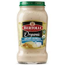 Bertolli Light Alfredo Sauce Organic Creamy Alfredo Pasta Sauce Bertolli