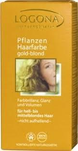 Logona Hair Dye Color Chart Logona Herbal Hair Colour Golden Blonde Ppd Free Hair Dyes