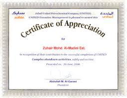 Sample Certificate Of Appreciation Magnificent Appreciation Certificate Examples Kenicandlecomfortzone