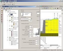 Small Picture Retaining wall calculation software for concrete structures
