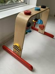 wood baby gym ikea leka