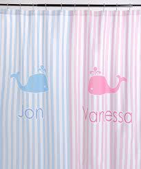 Monogrammed Shower Curtains For Girls Tags : personalized shower ...
