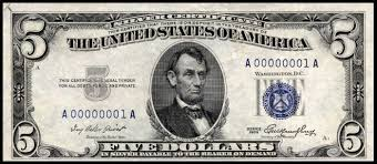 Silver Certificates We Buy Old Money Rare Money