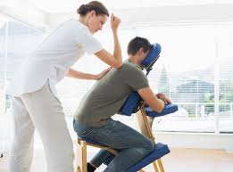 chair massage. the benefits of massage to potential customers,\u201d by david palmer, in june 2015 issue massage magazine. summary: chair provides clients a e