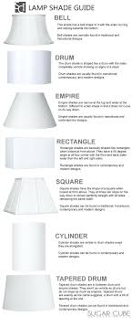 modern lamp shades lamp shade styles these diagrams are everything you need to decorate your home modern lamp shades