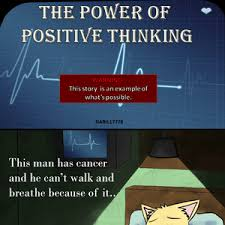 The Power Of Positive Thinking.. by recyclebin - Meme Center via Relatably.com