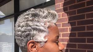 Short Grey Hair Style 2017 gray short hairstyles black women dallas texas youtube 7384 by wearticles.com