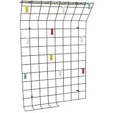 Wire Coat Rack Mesmerizing Metal Wire Coat Rack With Colored Hooks 32s Design Market