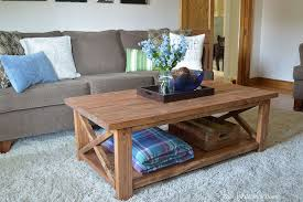 this gorgeous and classy coffee table could cost you as little as 100 bucks to make can you believe it
