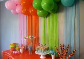 simple room decoration ideas for birthday easy way to decorate