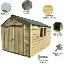 our garden sheds come with one or two windows as standard if you require more windows please contact us for a bespoke quote