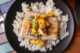 Mahi Mahi with Mango Salsa – Recette