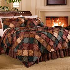 bedspread lavish home ine piece quilt set king red quilted