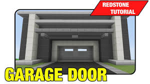 garage door stickingGarage Door 3 High Expandable Door Tutorial Minecraft Xbox